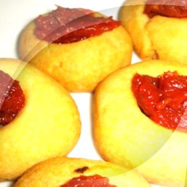 Biscotti mit getrockneten Tomaten