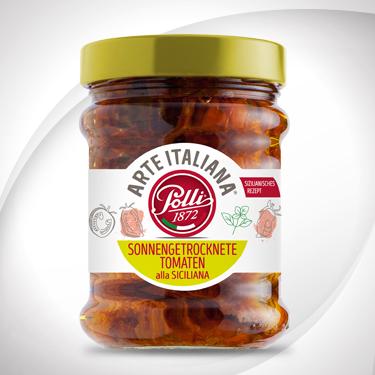 Sonnengetrocknete tomaten alla siciliana-polli